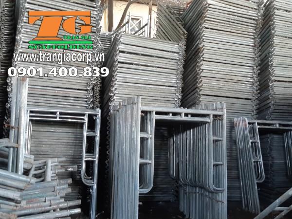 Cho Thuê Giàn Giáo 1m5 được sử dụng phổ biến tại các công trình xây dựng